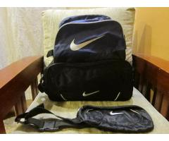 SOLD: Nike Shoe Bag, Man Purse, & Belt Bag (Selling as one Set.  All Original.)
