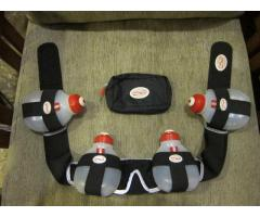 Fuel Belt Race Belt (One Set Including Hydration, Race Number, & Gadget or Gel Case)