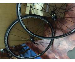 Sold  thanks biketrade Mavik aksium wheelset