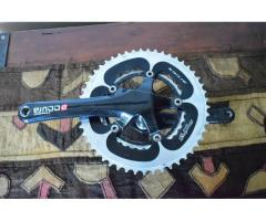 Accura carbon crankset