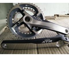 XTR cransket M985 175MM 2x speeds (42-30) used Almost new, Excellent condition