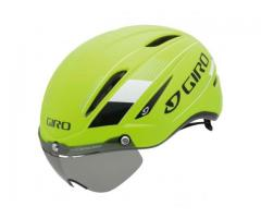 Giro air attack shield Highlight Yellow Medium
