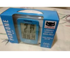 Brand New Cateye Padrone Speedometer - Blue Color