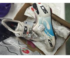 Sidi road bike shoes. Carbon