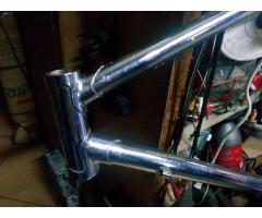 Road Frame Chrome/Nickel Plated Sold Sold Sold