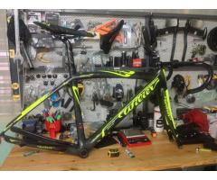 Wilier Zero 7 with Stem, Handlebar, Saddle