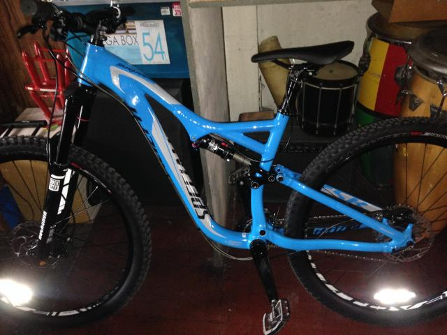 2015 specialized stumpjumper FSR Comp EVO 650B