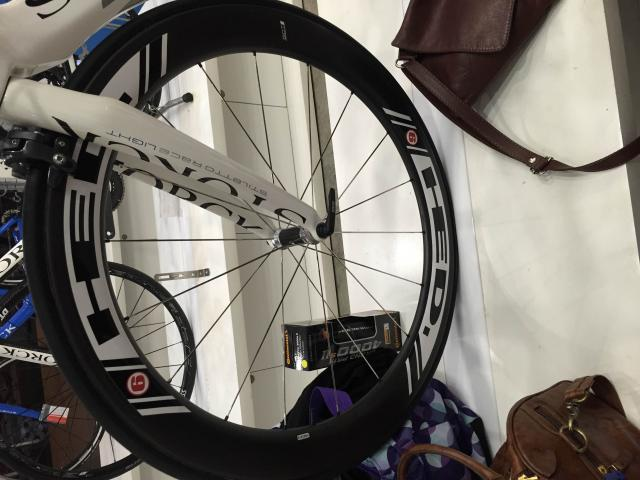 HED Stinger Flamme Rouge with Tires