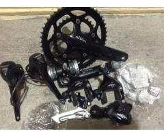 sora groupset w/ free used cateye velo9