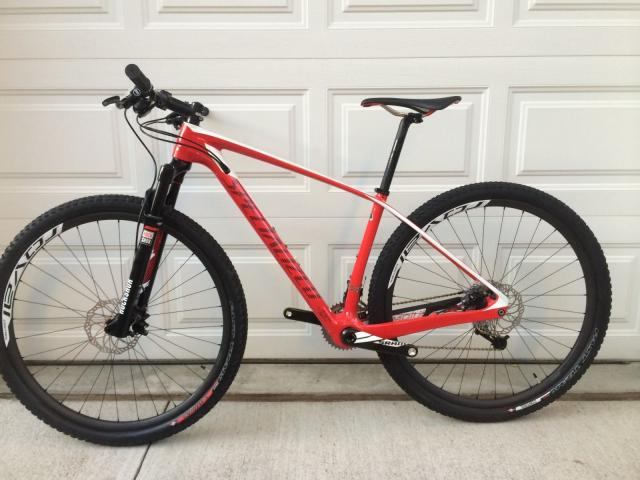 2014 Specialized Stumpjumper Marathon Carbon HT 29er Medium 17in ...