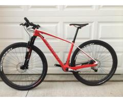2014 Specialized Stumpjumper Marathon Carbon HT 29er Medium 17in