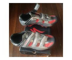 fs: specialized clipless shoes, scott jersey