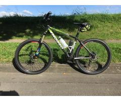 Mosso Mountain Bike with free Giant helmet and Merida saddle bag