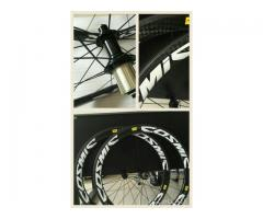 For sale 50mm x 25mm 700c carbon clincher light weight wheelset