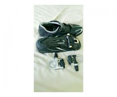 [SOLD] Shimano R078 Road Shoes with PD-R540