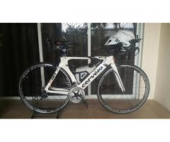 Cervelo P3 complete triathlon bike