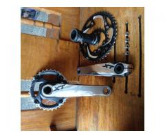 shimano XT CRANKSET M780 with bb