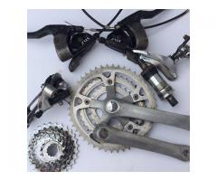 Classic Shimano Deore LX groupset