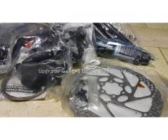 Brand New Deore Groupset I-Spec Shifter,180mm rotors and Adaptor - SOLD