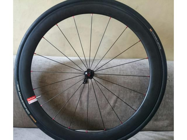 Novatec Carbon Wheelset 50mm Clinchers