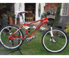 Merida Mountain Bike Full Suspension