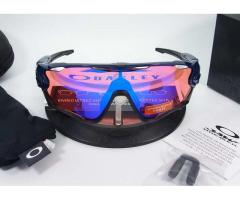 Oakley Jawbreaker Polished Navy with Prizm Trail Lens