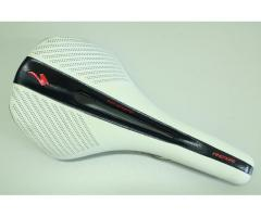 Specialized Saddle color white with black (dotted)
