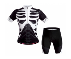 Brand New Cycling Jersey and Gel Padded Shorts Set