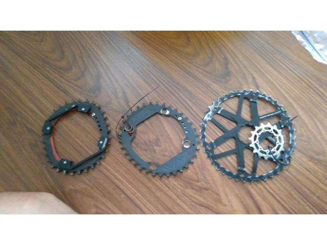 DOVAL Elliptical Chainring