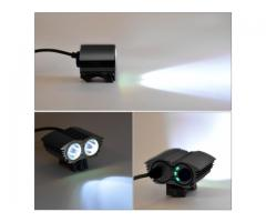 Police Cree 50000 Watt LED Dual Head Light