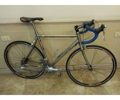 Titanium road bike for sale