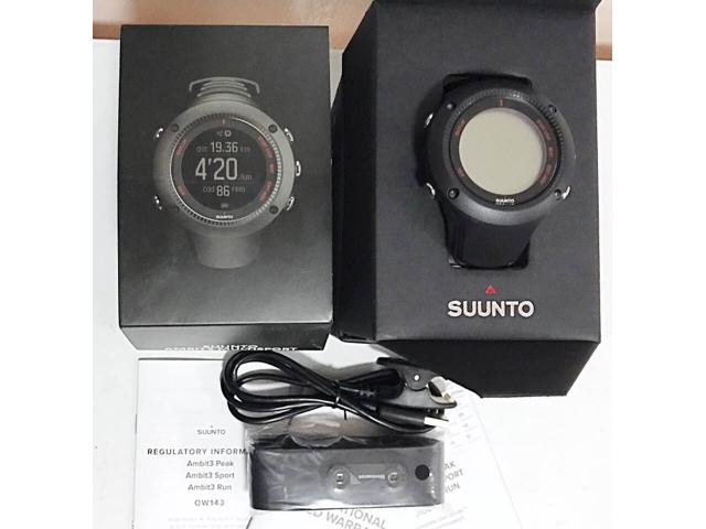 Suunto Ambit3 Multisport Watch with HR monitor