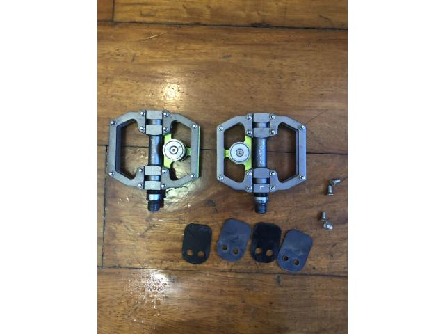 Magped magnetic pedal mtb or commuter safety pedal