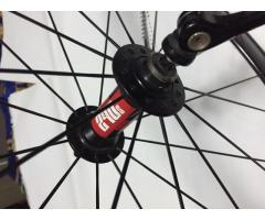 Fast Forward Carbon Tubular Wheelset
