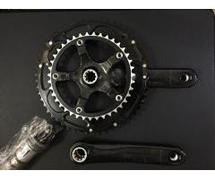 FSA K-Force carbon crank set